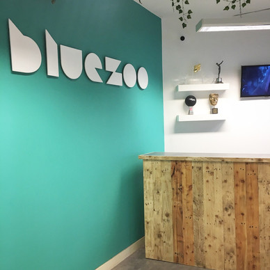 Rustic Reclaimed Reception Desk