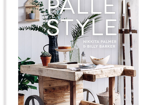 Pallet Style Signed Copy. OUT NOW!