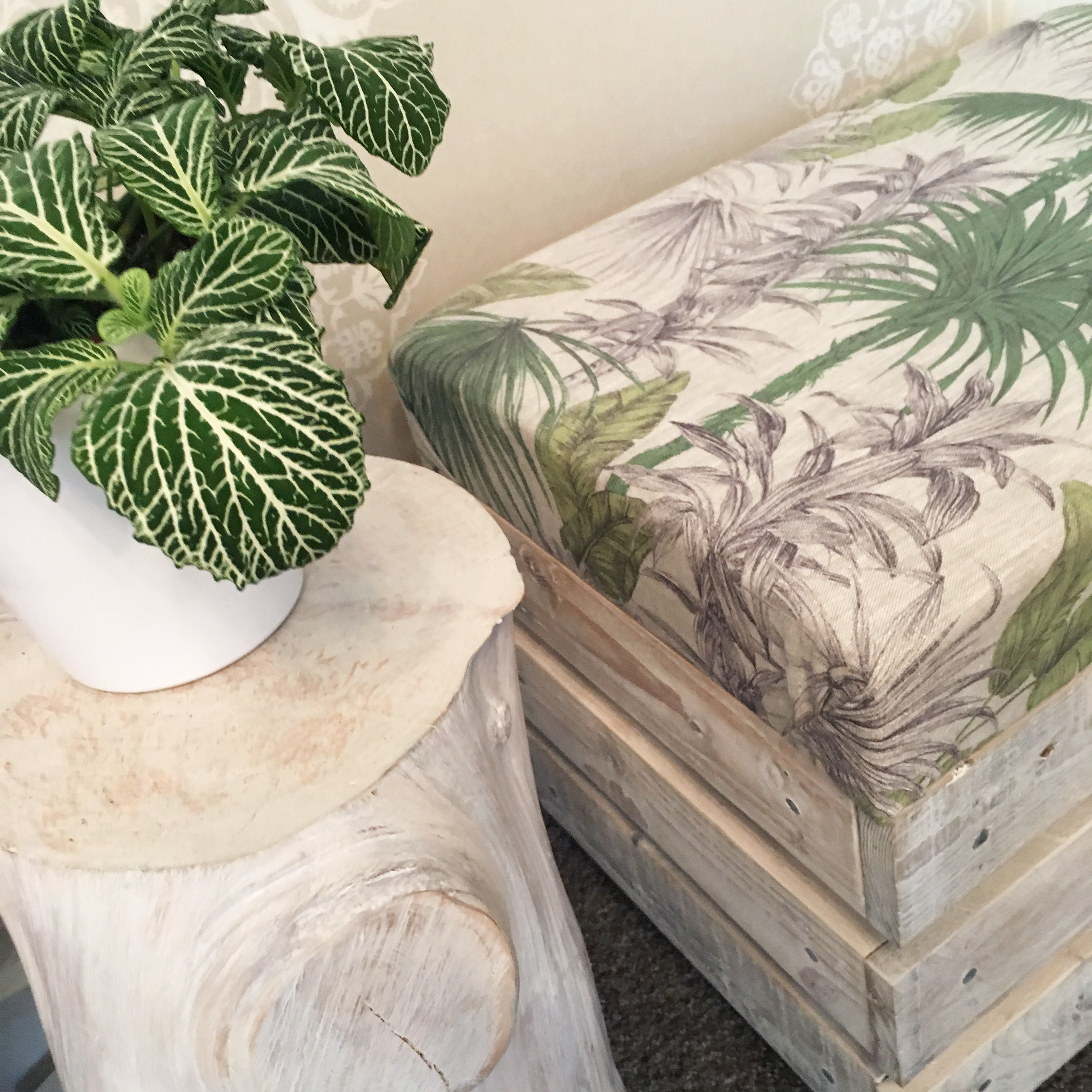 Log side tables