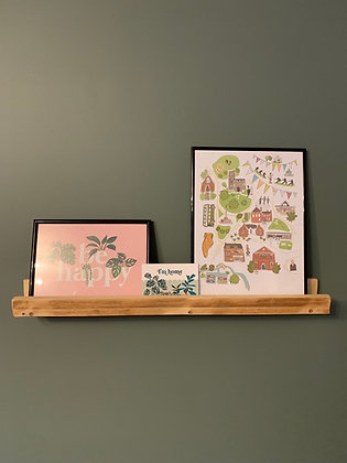 Reclaimed Picture Ledges