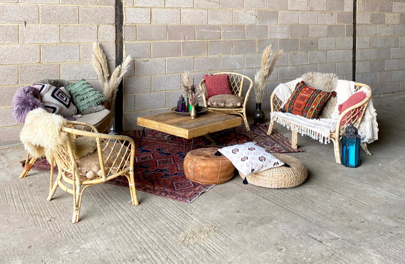 Rustic boho cane chill out area .jpg