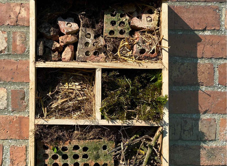 DIY Reclaimed Bug Hotel