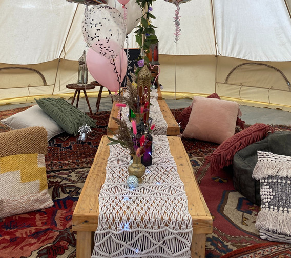 Boho Low Level Chill Out Ready to Go Package