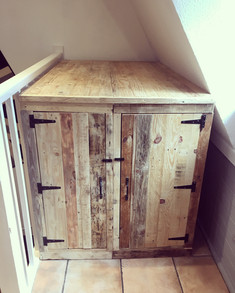 Rustic Wooden Storage Cupboard/Box