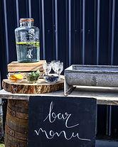 Whiskey Barrel Bar Hire   Boho Furniture Hire   Event Furniture Hire   Wedding Prop Hire   Photo https://www.gourmandpixels.com