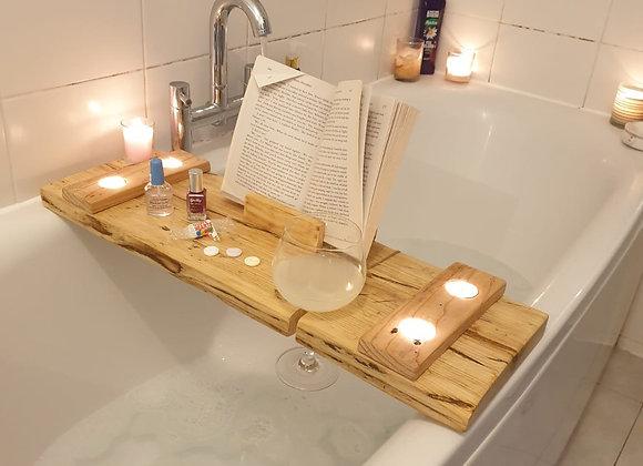 Book Lovers Reclaimed Bath Board