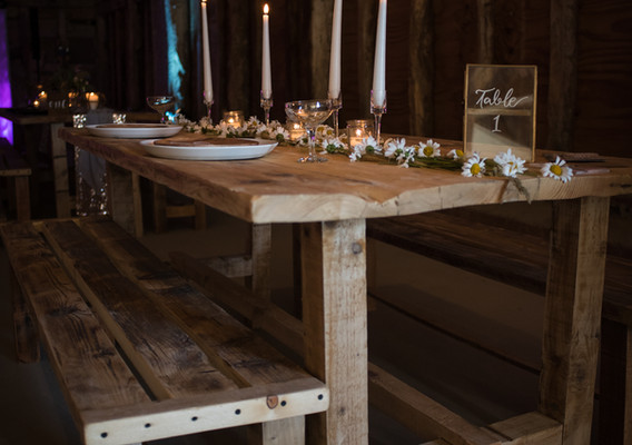 Rustic Benches