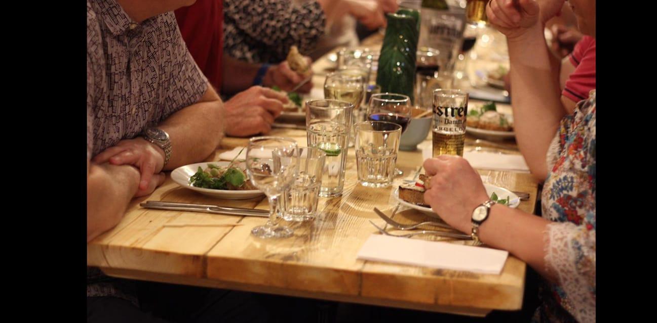 Reclaimed Restaurant Tables Handmade By Nikita Palmer Designs