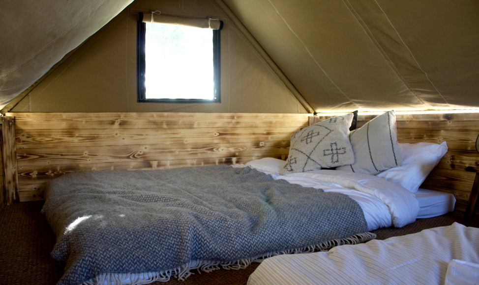 Reclaimed Furniture For Glamping Structure.