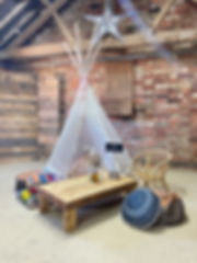 Kids wedding and event chill out area | Boho Furniture Hire | Event Furniture Hire | Wedding Prop Hire | Photo https://www.gourmandpixels.com