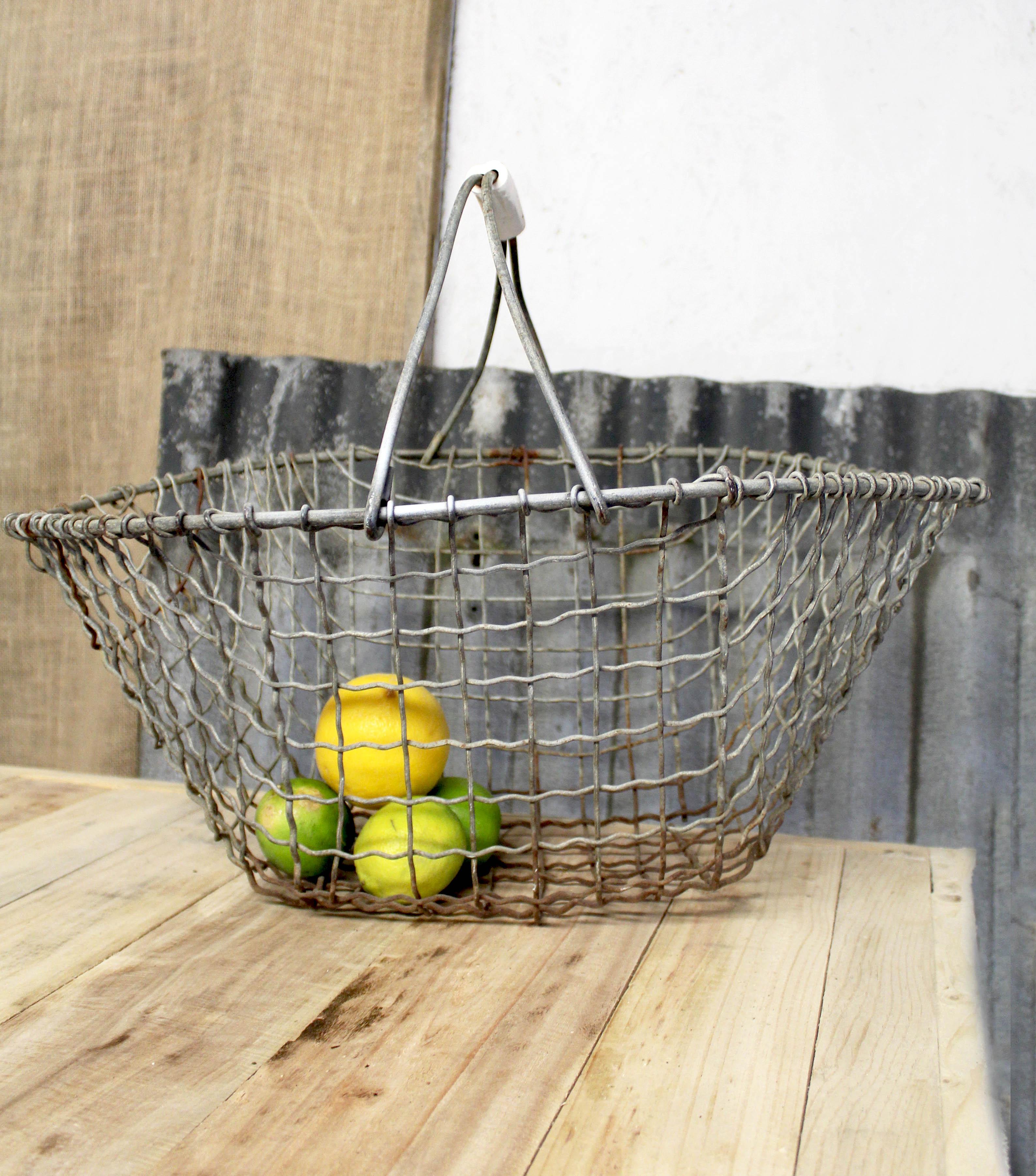Vintage Mesh Basket £7