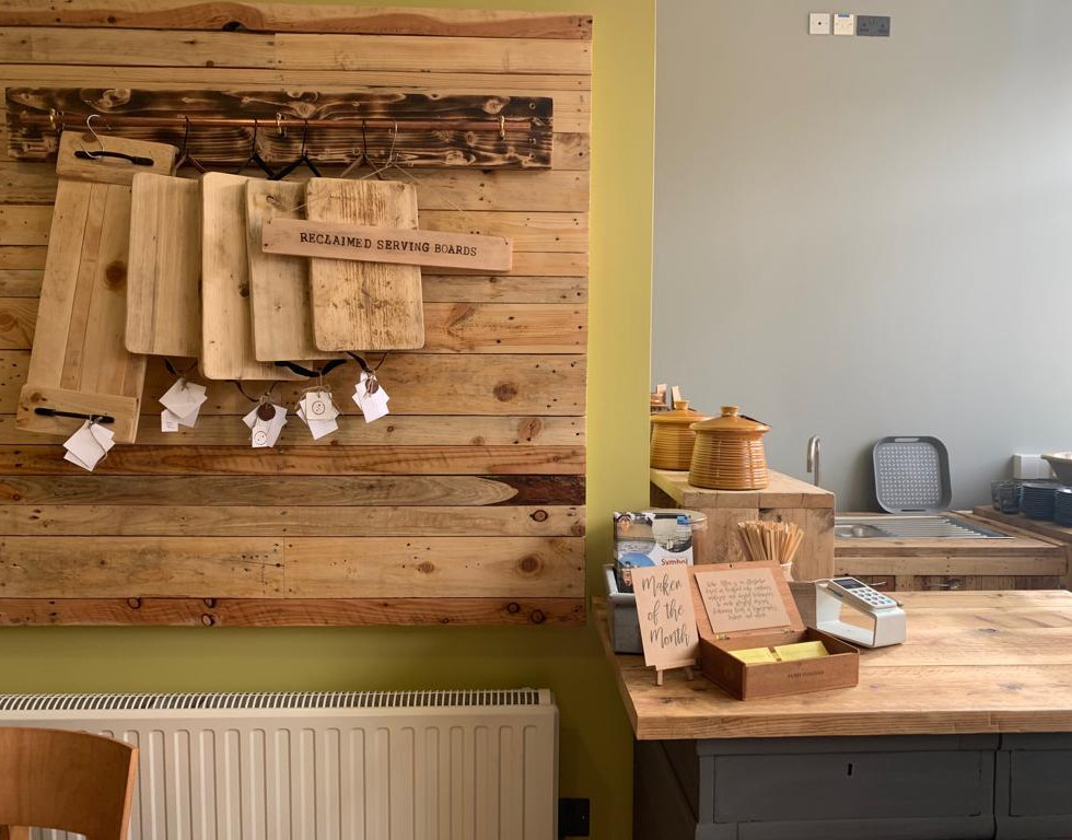 Made in Bedford Reclaimed, Sustainable Interior