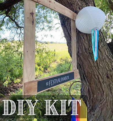 DIY KIT: Reclaimed Photobooth Frame