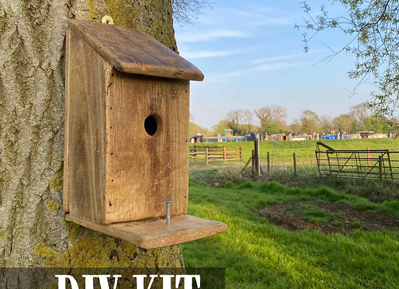 DIY Woodwork Craft Kit: Reclaimed Bird Box Kit