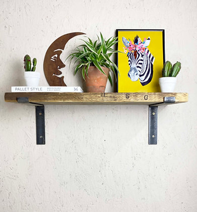 Reclaimed Industrial Shelves