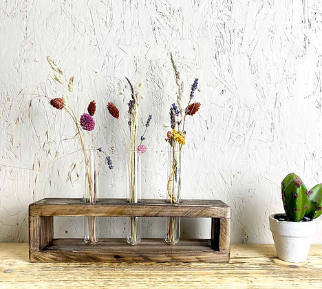 Reclaimed Test Tube Vase | Propagation Station | Flower Vase | Vintage Test Tube