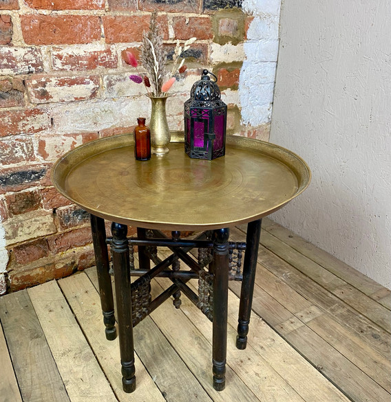 Moroccan Side Table for boho wedding and