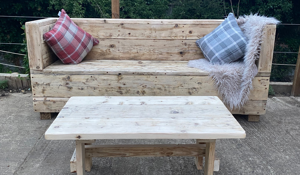 Reclaimed Outdoor Sofa