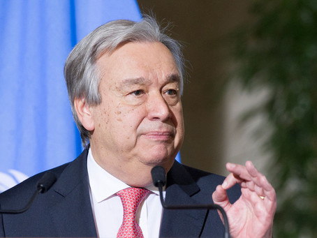 UN chief sends condolences, offers help after earthquake in Mexico