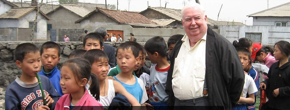 Featured Image: Father Hammond at a treatment center in North Korea (Gerard Hammond)