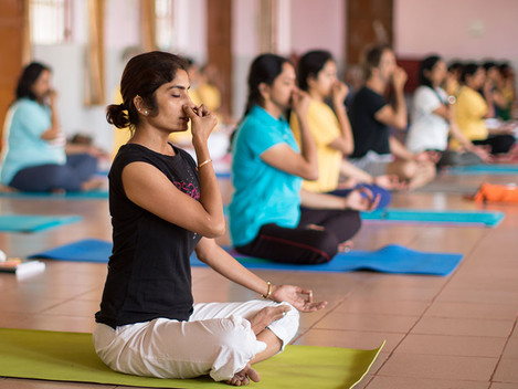 Pranayama - the PHD of Yoga