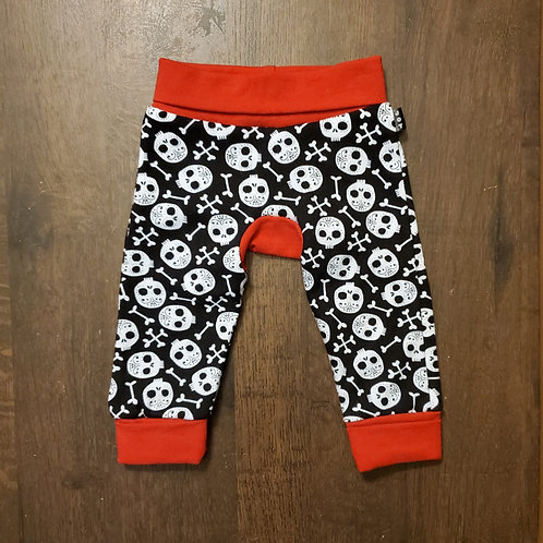 Baby Skull Monkey Pants
