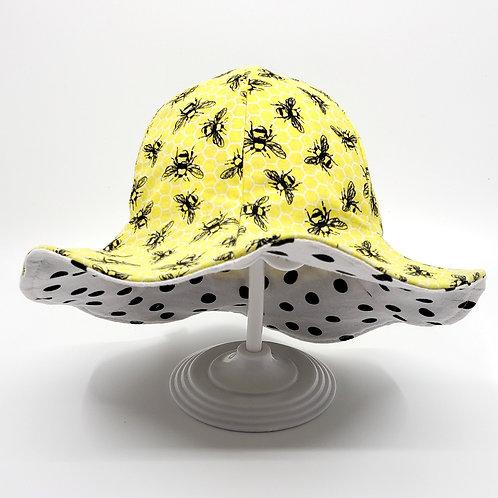Honey Bees Reversible Sunny Hat