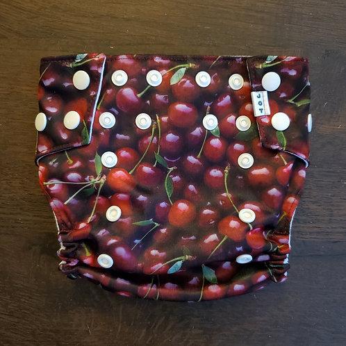 Cherries Diaper - seconds