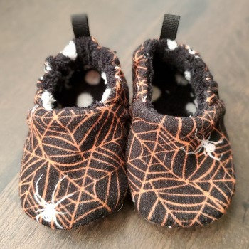 Spiderweb Shoes - 6-12M