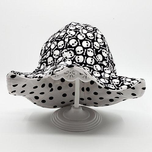 Skulls Reversible Sunny Hat
