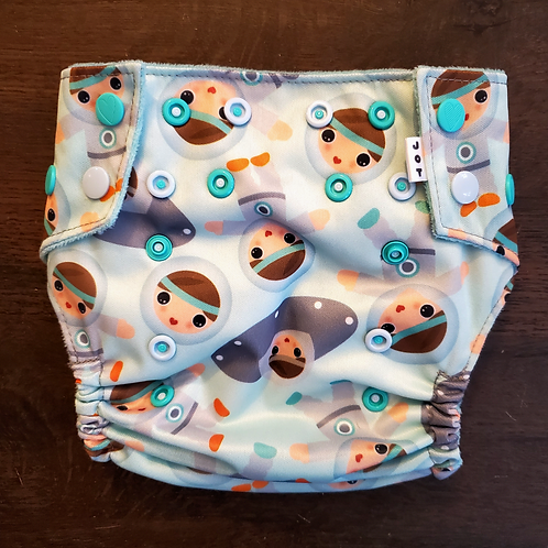 Baby Astronauts Diaper