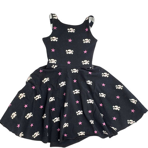 Skulls Summer Dress 12m - 3Y