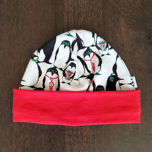Holiday Penguins Beanie