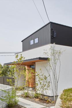 二宮の住宅