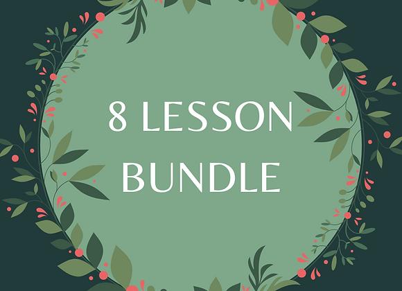 8 Lesson Bundle