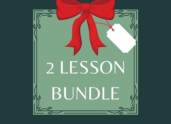 2 Lesson Bundle - Gift