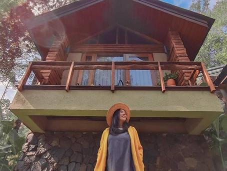 Keindahan Villa Kampuh Becik di Kaki Gunung Puntang