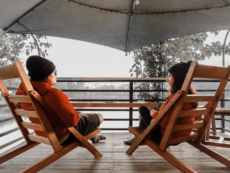 One Day Trip to Glamping Lakeside Rancabali