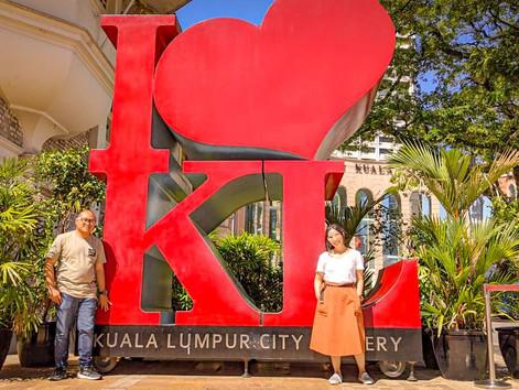 Spot Foto Instagramable di Musium Kuala Lumpur City Gallery