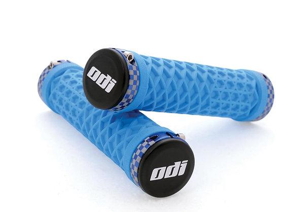 ODI Vans Lock-On Grips | Blue