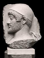 high relief, sculpture, Odysseus, Ulysses, Nikos Sofialakis