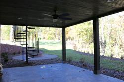 Basement patio