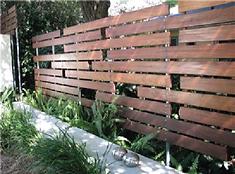 Exterior fence inspiration