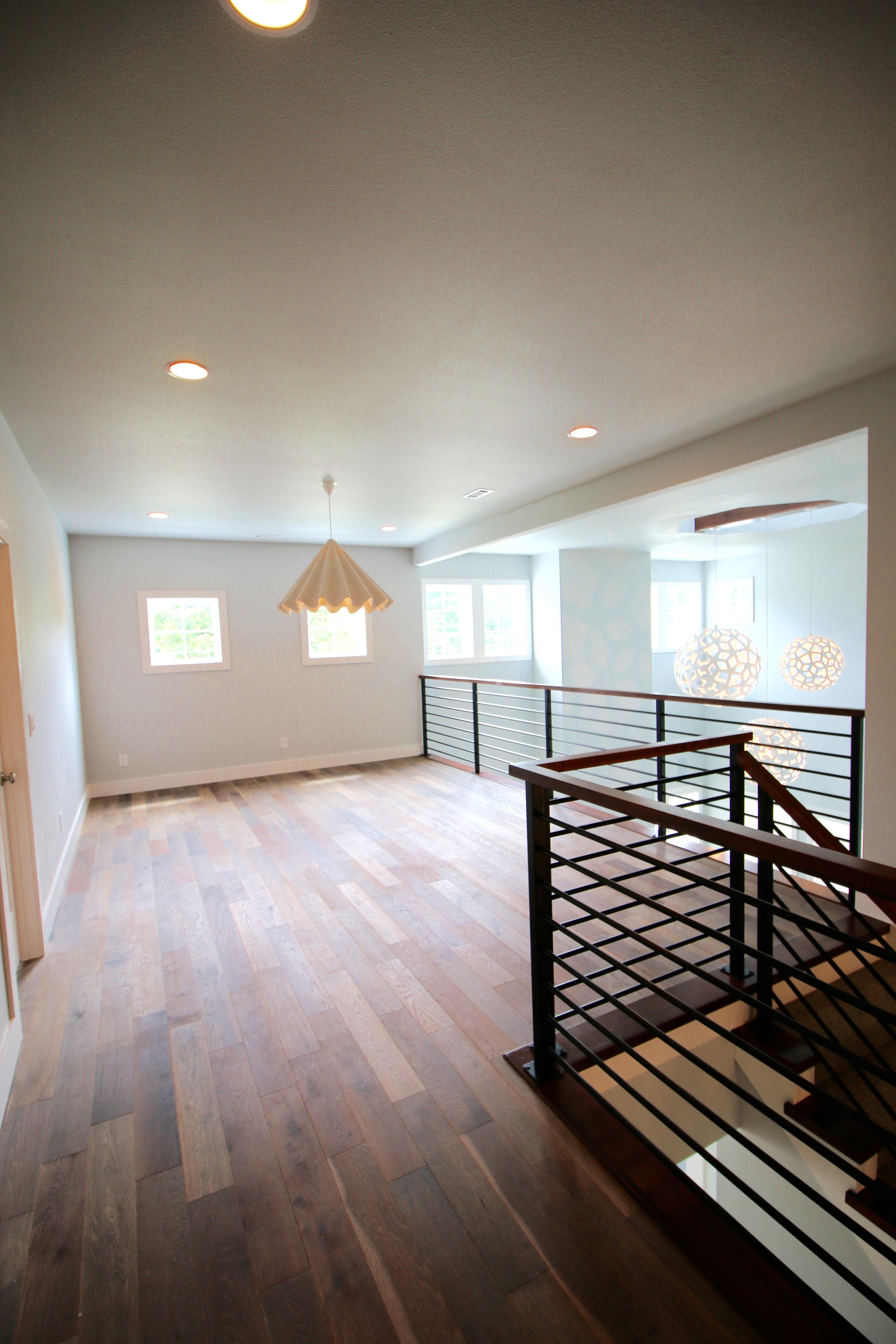 Upstairs Living