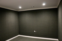 Media room/golf simulation room