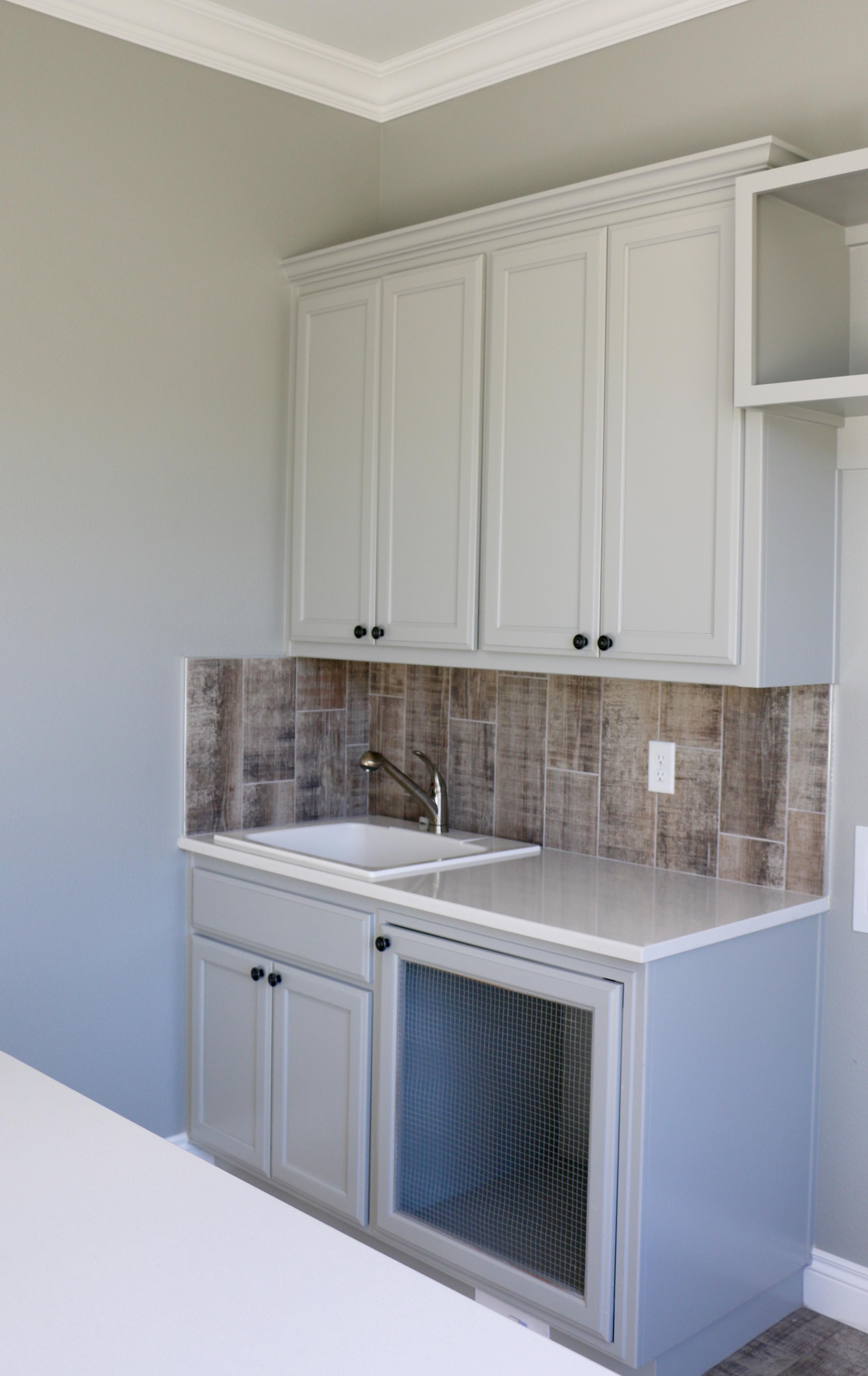 Utility room sink