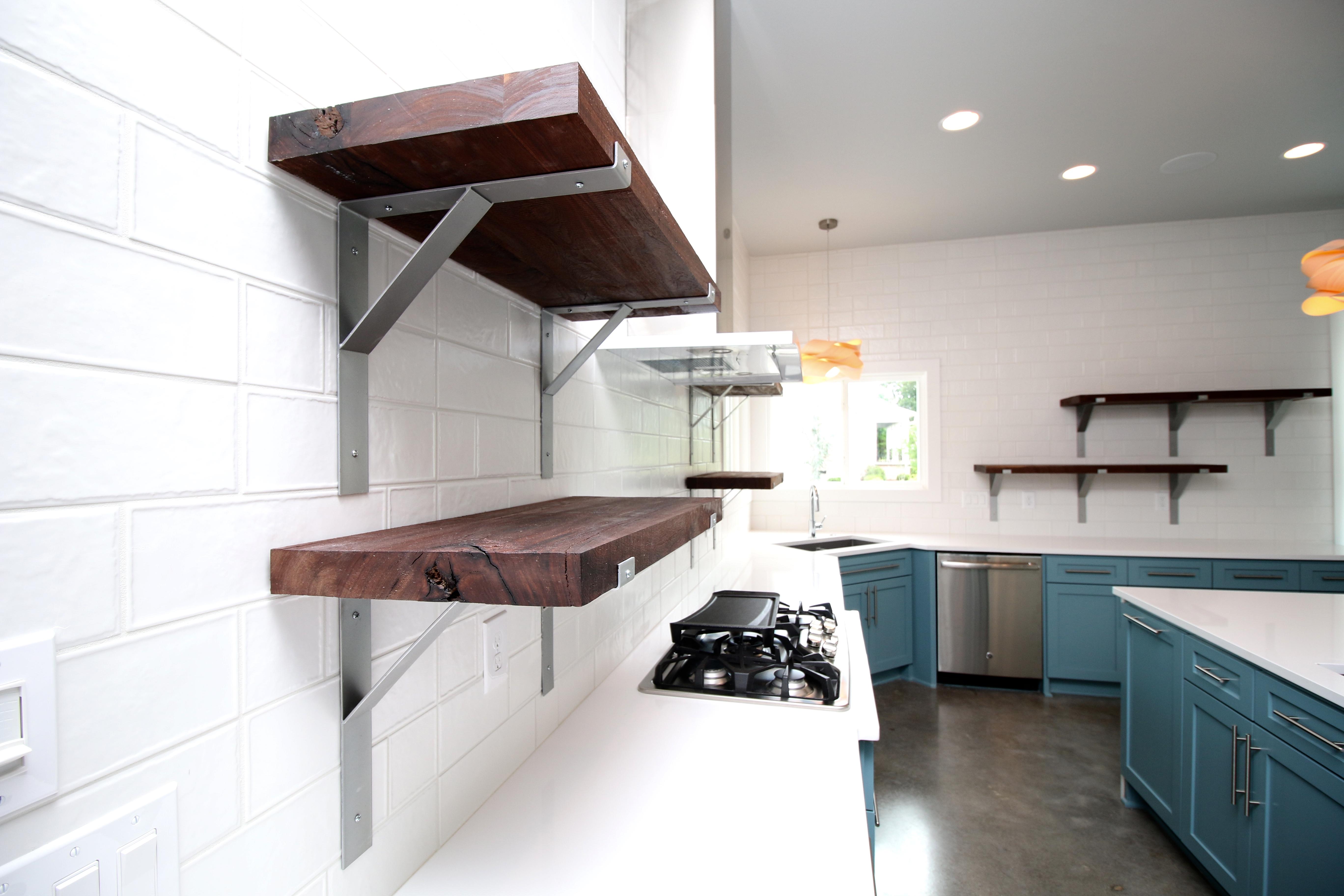 Custom Kitchen Shelving