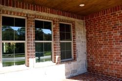 Brick patio