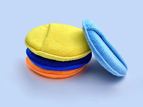 Microfiber Wax Applicator with Pocket or Strap- 100pcs/ Pack