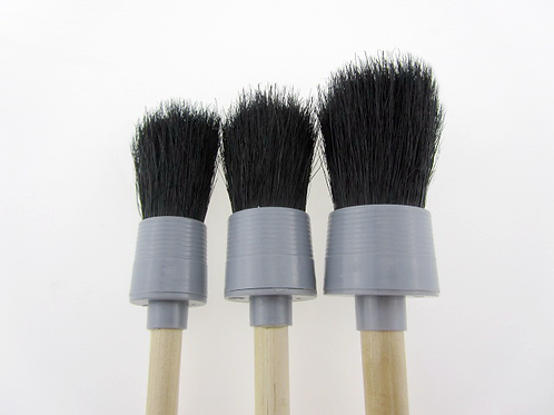 Boar's Hair Brush Set (3x)